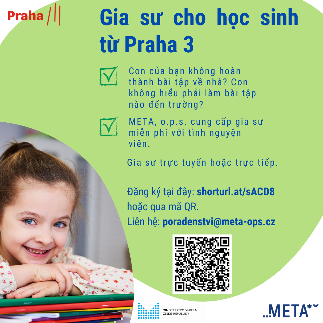 Doučování Praha III_VIET